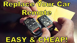 Replace / Fix Your Car Key Remote FOB (DIY Easy & CHEAP!) Honda Odyssey