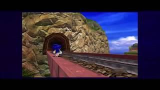 Sonic Adventure DX sonic Story part 1B plus Ending