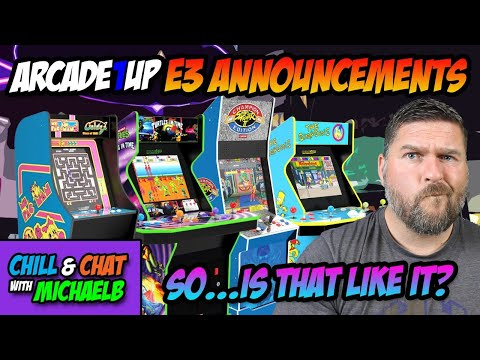 Arcade1UP E3 2021 New Cabinets Announced Is This It? from MichaelBtheGameGenie