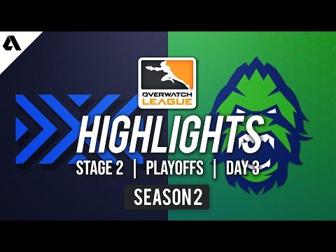 New York Excelsior vs Vancouver Titans | Overwatch League S2 Highlights - Stage 2 Playoffs Day 3