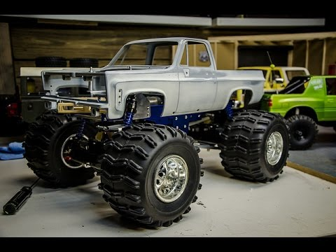 tamiya based monster truck build with rc4wd chevy k5 blazer youtube. Black Bedroom Furniture Sets. Home Design Ideas