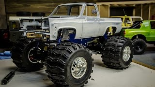 Tamiya Based Monster Truck Build With RC4wd Chevy K5 Blazer