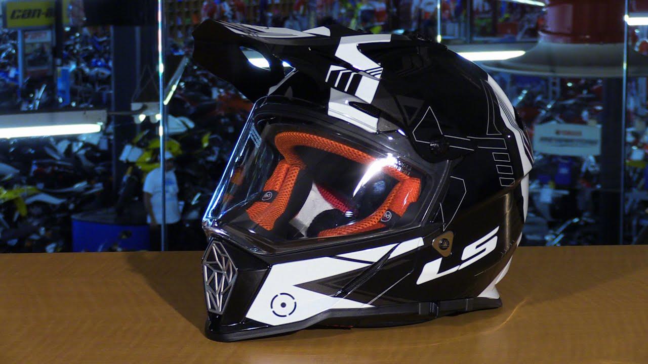 2aa57c46 LS2 Pioneer Dual Sport Motorcycle Helmet Review - YouTube