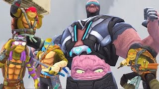 Teenage Mutant Ninja Turtles: Legends: TMNT The Movie VS Krang Boss
