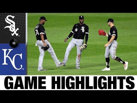 Eloy Jiménez, Luis Robert rake in 11-4 win   White Sox-Royals Game Highlights 8/1/20