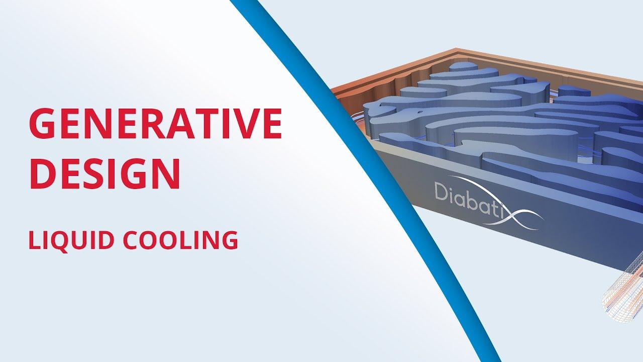 Generative Heat Sink Design Optimization Software Diabatix