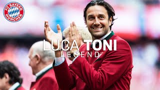 What is Luca Toni doing? FC Bayern Legends #5