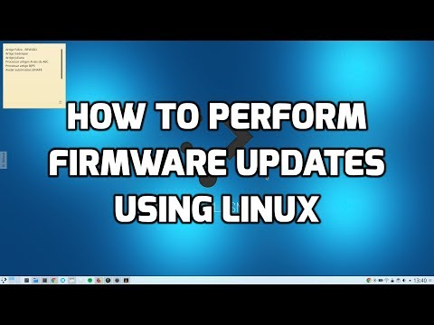 How To Perform Firmware Updates Using Linux