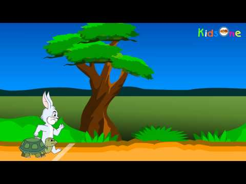 Rabbit And Tortoise Story Slow And Steady Wins The Race