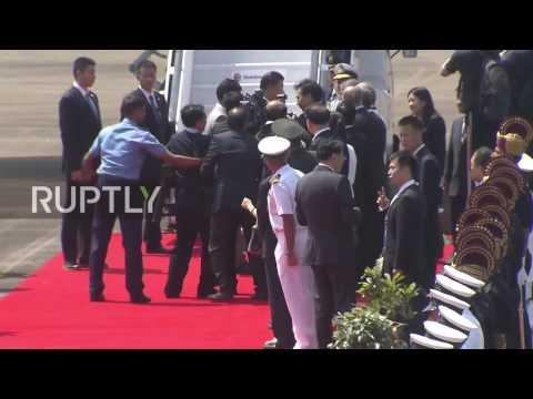 India: Xi Jinping arrives in Goa for 8th BRICS summit