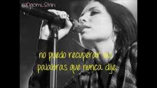 Skylar Grey - Words (Lyrics - Subtitulos en español)