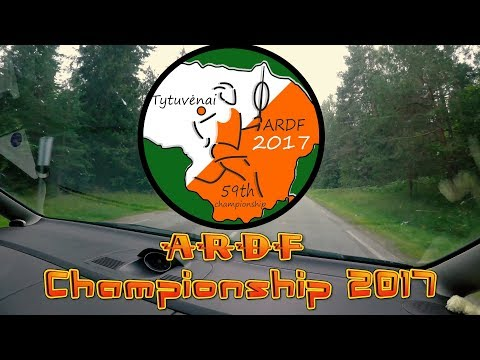 59-th Lithuanian ARDF championship 2017