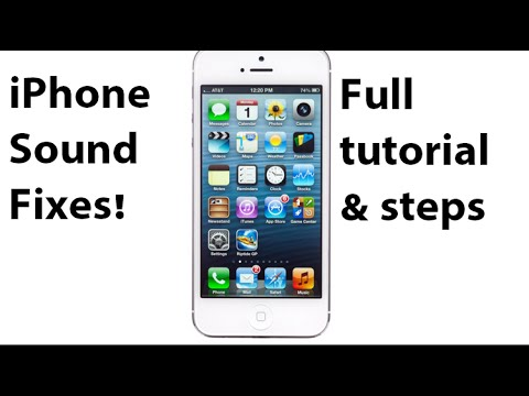 How to FIX iPhone Speaker & SOUND problem - PROVEN