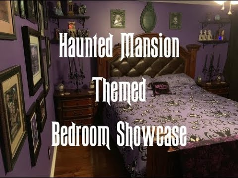 Home Sweet Haunted Mansion: 13 Photos of My Room Inspired ...  Haunted Mansion Themed Bedroom