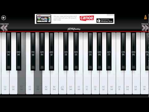 Windows 8,1 Piano 8 app review learn to play the piano on your pc