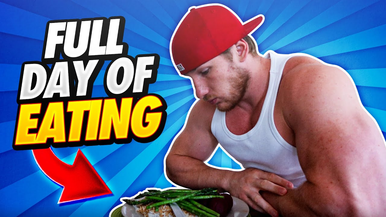 Full Day of Eating for Losing Fat and Getting Shredded