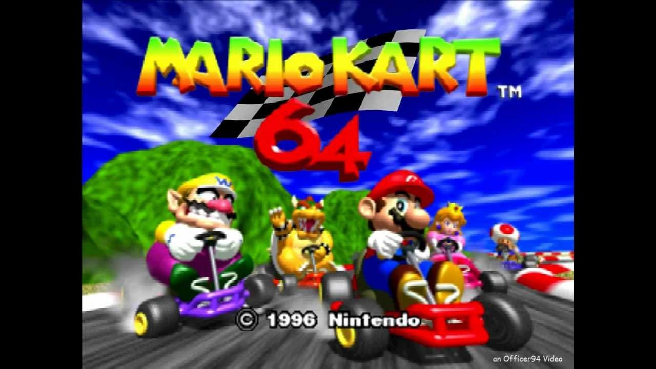 Mario Kart 64 - Title Screen [HD] - YouTube