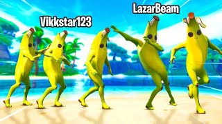 Lazarbeam made us CONGA ALL GAME...