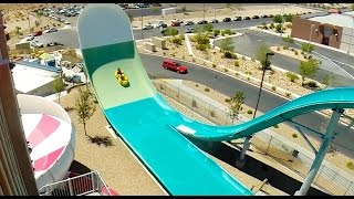 [HD] Hoover Half Pipe - Water Slide at Wet n Wild Las Vegas