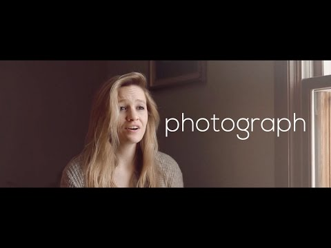 Photograph - Ed Sheeran (cover with Twenty One Two)