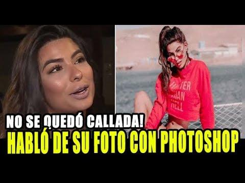 IVANA YTURBE HABLÓ SOBRE EL EXCESO USO DE PHOTOSHOP EN SU FOTO