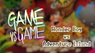 Wonder Boy vs Adventure Island - SMS vs NES - Game vs Game