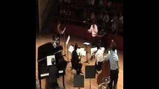 Pierrot Lunaire by Schönberg (1) Mondestrunken Tempus Fugit