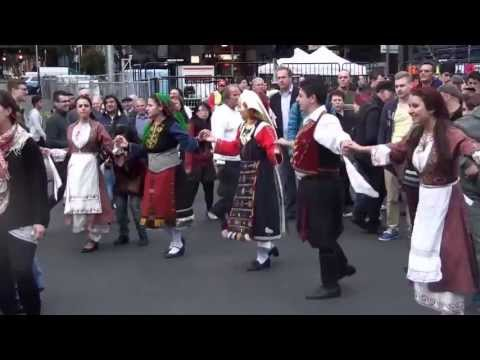Antipodes 2013 - Greek Dancing Lonsdale Street Melbourne