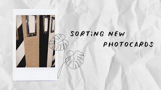 sorting new photocards   #1 (red velvet, exo, nct, oh my girl, + more)