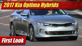 2017 Kia Optima Hybrids