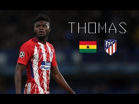 THOMAS PARTEY - Sublime Passes, Skills, Goals - Atlético Madrid & Ghana - 2017/2018