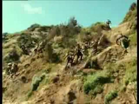 ANZAC mini series The Gallipoli Landing Scene 1915