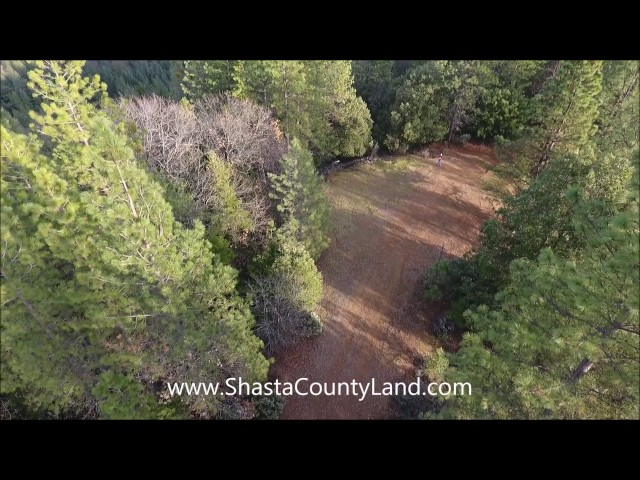 Shasta County Land - Road/clearing on 144 acres (3 parcels) by Shasta Lake