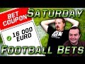 €16,000 Sports Betting WIN!!