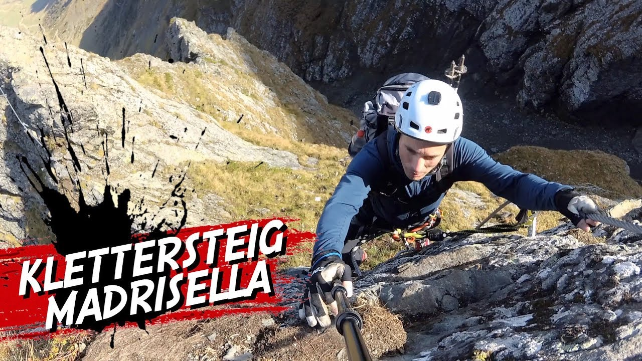 Klettersteig Madrisella : Madrisella klettersteig montafon silvretta youtube