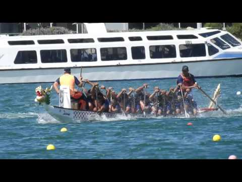 Dragon Boat Racing Adelaide 2016 - Philippine Coast Guard DBT - 20s 500m Mixed Grand Finals