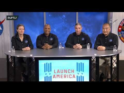 LIVE: NASA's SpaceX Crew-1 astronauts hold press conference following historic splashdown