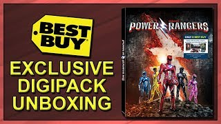 Power Rangers Best Buy Exclusive Blu-ray Digipack Unboxing