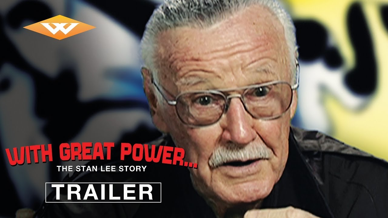 WITH GREAT POWER: THE STAN LEE STORY (2010) Official Trailer | Marvel Documentary