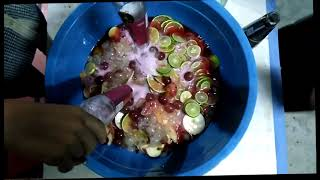 How to mix fruit with alcohol | Fruit cocktail from Battambong  Province