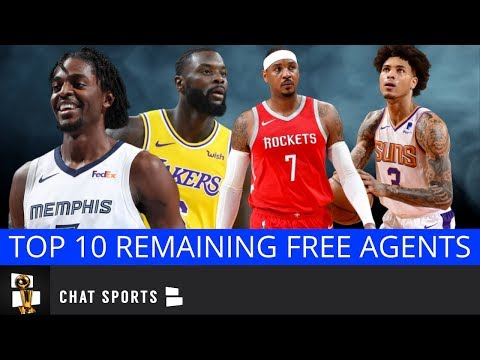 Top 10 NBA Free Agents Who Are Still Unsigned - Feat. Kelly Oubre Jr., Kyle Korver & Carmelo Anthony