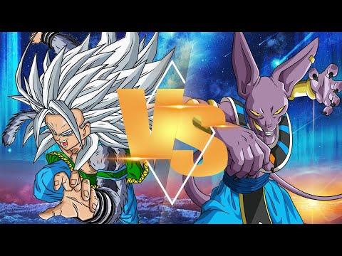 [What-if] Super Saiyan 5 Goku VS Lord Beerus (Sprite Animation) (Dragon Ball AF X Dragon Ball Super)