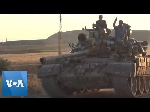 Syria Government Troops