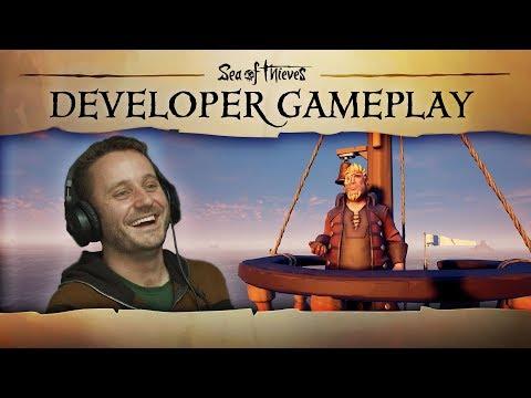 В новом геймплейном ролике игры Sea of Thieves показали морские сражения