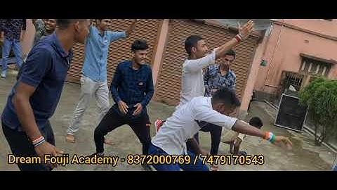 Dream Fouji Academy 15 August Celebration   Aye Watan Aye Watan (Jalwa Jalwa) Songs Dance