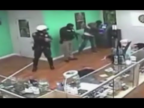 Cops Charged for Stealing Snacks in Pot Shop Raid [CAUGHT ON CAMERA]