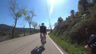 90 Minute Sunshine Indoor Cycling Training Catalonia Spain 4K Part 3