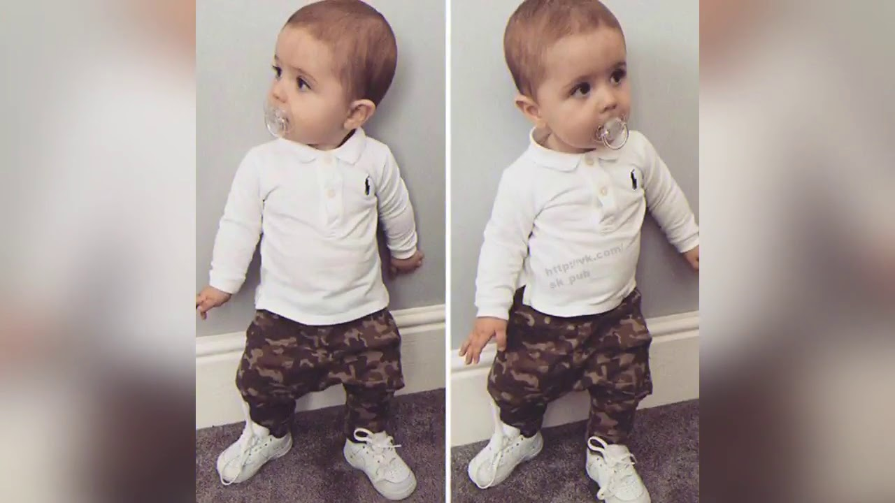 0a87eead151e 30 Trendy and Cute Toddler Boy OUTFIT - How to style baby - Erwinasland kid  fashion