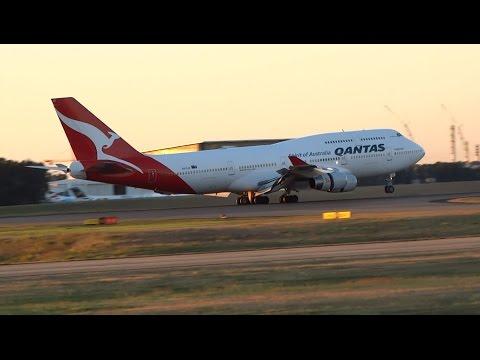 1 HOUR PLANE SPOTTING at Brisbane Airport (Morning Departures & Arrivals)