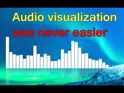 How To Make Music Visualizer Video - Audio Visualizer